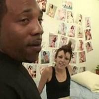 Два толстых черных члена одну