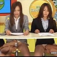 Lesbians cutting off clothes