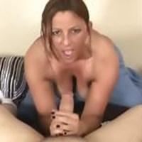 She jerks him off sex