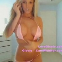 Gisele camwithher reveals boobs video — pic 4